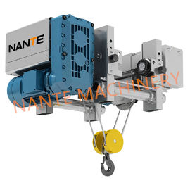 China 12.5 Ton Low Headroom Electric Hoist Steel Rope Hoist For Warehouse factory