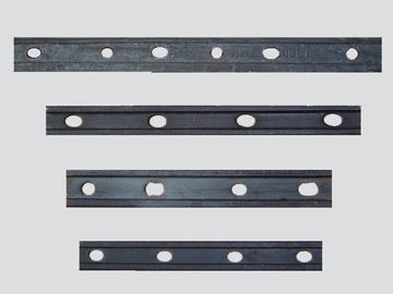 China Crane Rail Accessories Crane Components Fish Plate FP Series For Steel Rail factory