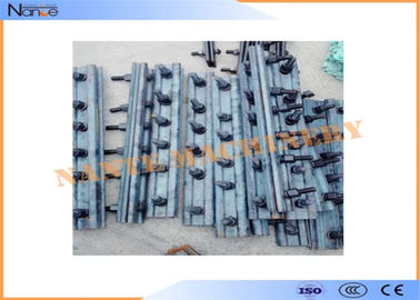 buy Steel Standard Rail Fish Plate Mobile Crane Components For Crane Rail Running online manufacturer