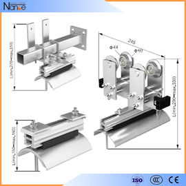 China Galvanized Steel Adjustable I Beam Trolley Festoon System With Max.110mm factory