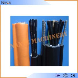 China Oil / Flame Resistance Rubber Twin Flat Electrical Cable GB5023.6 / IEC60227-6 factory
