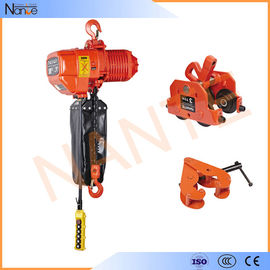 China Construction 1/4 Ton Low Headroom Chain Hoist With Limit Switch factory
