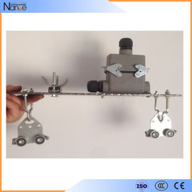 China Gantry Crane Festoon Cable Trolley C-Rail Festoon System With Dual Locking Elements factory