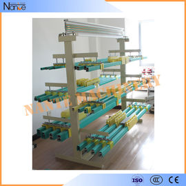 China 1.8m - 2.0m Bridge Crane Conductor Bar Insulated Bus Bar Corrosion Resistance factory
