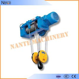 buy High Efficiency 0.5 Ton / 1 Ton Electrical Wire Rope Hoist For Mining / Factory / Dock online manufacturer