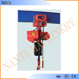 China 5 Ton / 15 Ton Manual / Electric Chain Hoist Suspended Type 3m - 130m factory