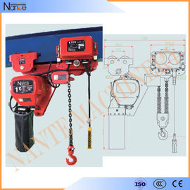 China 250kg - 50ton Manual Chain Hoists , Construction Wire Rope Electric Hoist factory