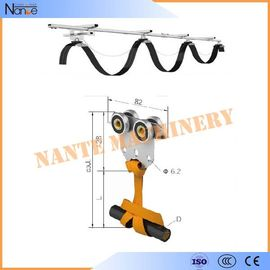 China High Efficient C32 Festoon Cable Systems C-Track And Cable Trolley factory