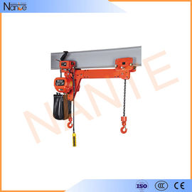 China 5 Ton Electric Chain Hoist Low Headroom Electric Hoist With High Strength Shell factory