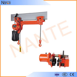 China Heavy Load 5 Ton / 10 Ton Manual Chain Hoist Lifting Equipment 24v - 48v factory