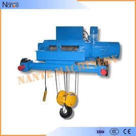 China Double Girder Electric Wire Rope Hoist Winch Trolley for Chemical Industry factory
