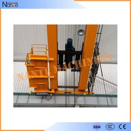 China 10 ton / 50 ton Dual Rail Electric Wire Rope Hoist Heavy Duty Winch Trolley factory