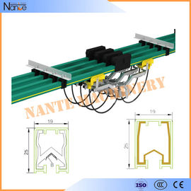 China Busbar Powerail Crane Conductor Bar System With CCC / ISO9001 NANTE JDC-H factory