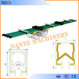 China Aluminum / Copper insulated Conductor Bar Crane Bus Bar With CE Certificated JDC-H factory