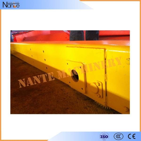 Bridge Electric Steel Crane End Carriage 3 Phase 380V 50HZ Customized